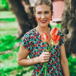 Modcloth Dresses - ModCloth Frock Shop Multicolor Midi Dress